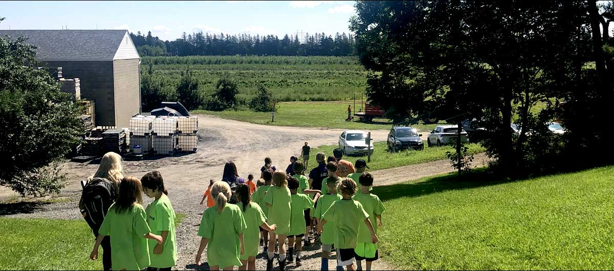 Kidz Korner Summer Camp trip to Indian Ladder Farms